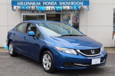 Certified Used Honda Civic Sdn 4dr Auto LX