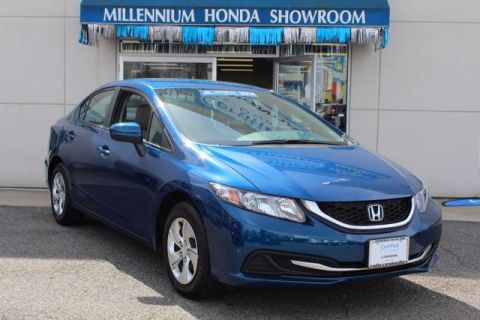 Certified Used Honda Civic Sedan 4dr CVT LX