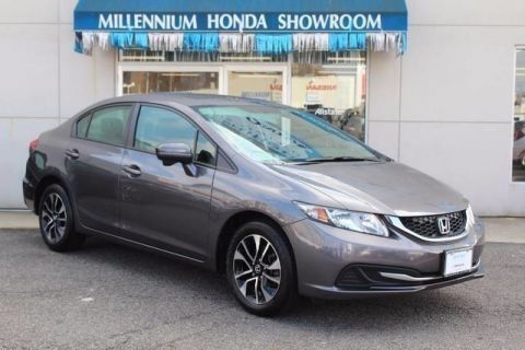 Certified Used Honda Civic Sedan 4dr CVT EX