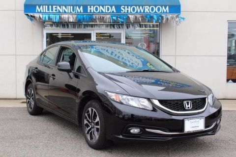 Certified Used Honda Civic Sdn EX-L