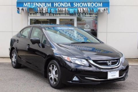Certified Pre-Owned 2014 Honda Civic Hybrid 4dr Sdn L4 CVT