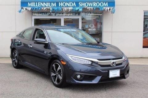 Certified Used Honda Civic Sedan 4dr CVT Touring