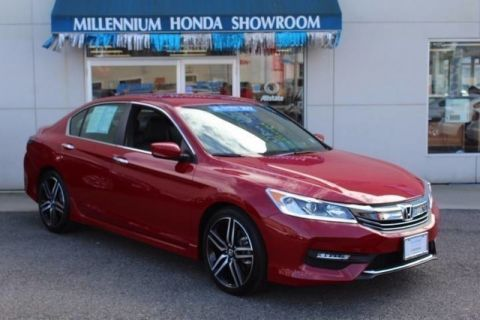 Certified Used Honda Accord Sedan Sport SE CVT