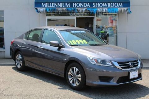 Certified Used Honda Accord Sedan 4dr I4 CVT LX