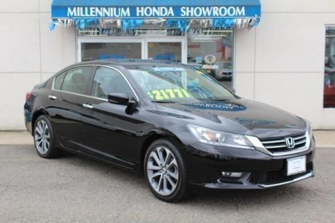 Certified Used Honda Accord Sedan 4dr I4 CVT Sport