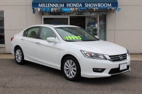 Certified Used Honda Accord Sedan 4dr I4 CVT EX