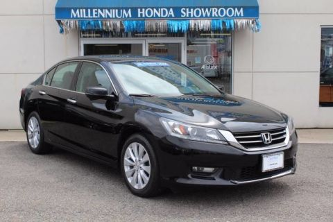 Certified Used Honda Accord Sedan 4dr V6 Auto EX-L PZEV