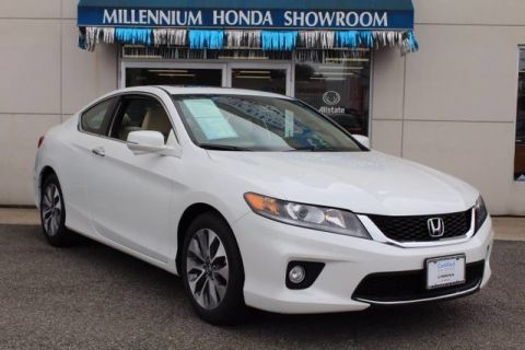 Certified Used Honda Accord Coupe EX-L