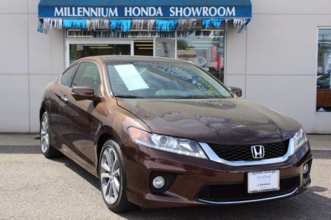 Certified Pre-Owned 2014 Honda Accord Coupe 2dr V6 Auto EX-L