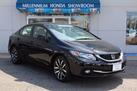 Certified Used Honda Civic Sedan 4dr CVT EX-L