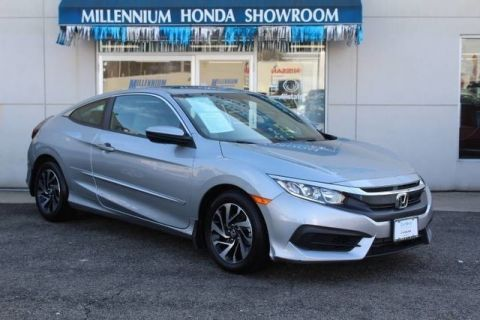 Certified Used Honda Civic Coupe 2dr CVT LX-P