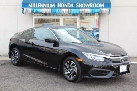 Certified Used Honda Civic Coupe 2dr CVT LX