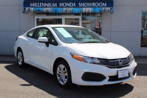 Certified Pre-Owned 2014 Honda Civic Coupe 2dr CVT LX