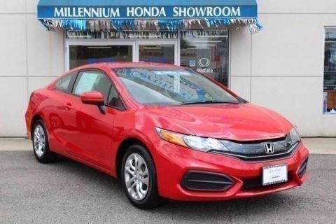 Certified Used Honda Civic Coupe LX
