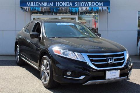Certified Pre-Owned 2014 Honda Crosstour 4WD V6 5dr EX-L